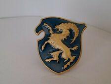 CISITALIA Brass enamel gold chromium emblem 50 mm.