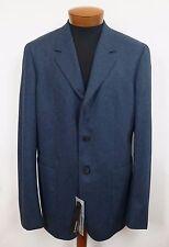 $1700 NWT Auth JIL SANDER 100% WOOL FLANNEL Sport Coat Blazer IT-54 US-44 ITALY