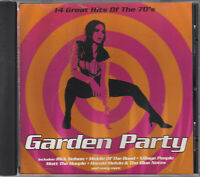 Various – Garden Party  CD 14 TRACK CD SEALED