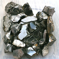 Elite Shungite Noble Stones C60 EMF Raw Rough Karelia Bulk Lot Water 10-15 G