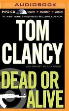 Tom Clancy DEAD OR ALIVE Unabridged MP3-CD 20.5 Hours *NEW* FAST 1st Class Ship!
