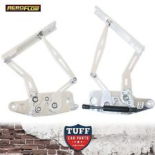 HK HT HG Holden Monaro Kingswood Aeroflow Polished Billet Bonnet Hinge Kit New