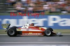 Gilles Villeneuve Ferrari 312 T3 German Grand Prix 1978 Photograph 2