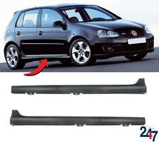 NEW VW GOLF GTI MK5 2004 - 2009 4 DOOR GTI SIDE SKIRTS LEFT RIGHT PAIR SET