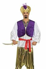 Wüsten-Prinz Shirt-Weste, arabische/arabische Nacht, Herren Kostüm #DE