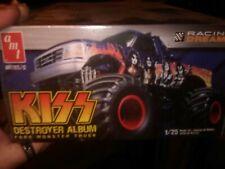 Kiss Destroyer plastic model Monster truck