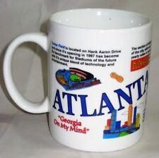 """Atlanta """"Georgia On My Mind"""" Mug/Cup Turner Field Underground Excellent"""