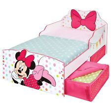 Minnie Mouse Junior Lettino con Cassettone camera da letto per bambini