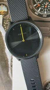 Garmin Vivomove HR Sport Hybrid Smartwatch - Black - 010-01850-11 NO CHARGER