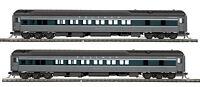 HO MTH Union Pacific 2 Car Heavyweight Passenger Set for 2 Rail Track 80-40006