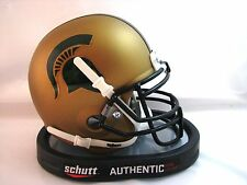 Michigan State Spartans Gold Alternate Schutt Mini Helmet  IN STOCK!!