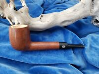 NEVER SMOKED Antique MASTERCRAFT Meerschaum Lined Imported  Briar Italy Pipe