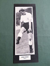 JOHN RYDEN - TOTTENHAM HOTSPUR -1 HALF PAGE PICTURE- BOOK CLIPPING/CUTTING