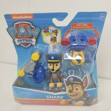 Nickelodeon Paw Patrol Action Pack Chase Figure With 2 Clip On Uniforms Police