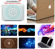 """Laptop Hard Shell Case Screen Protector Cover For Macbook Air 11"""" 13"""" 13.3"""" inch"""