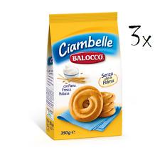 3x Balocco Ciambelle Kekse zum Frühstück 350 g biscuits cookies kuchen