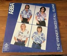 "ABBA - The Winner Takes it all - Sweden Picture Sleeve 7"" VINYL"