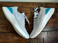 NEW Nike Epic React Flyknit 2 Vast Grey BQ8928-006 Men's Shoes Size 10