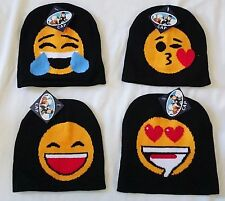 4 pieces of Emoji Smiley Face Emoticon Beanie Hat Wholesale Party Favor Gift