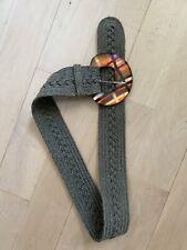 Alexis Bittar Woven Belt Medium Made In New York