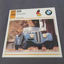 483C Edito Estación de Ficha Folleto BMW 328