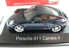 1/43 Herpa Porsche 911 Carrera 4 Coupé dunkelblaumetallic SONDERPREIS 29,99 €