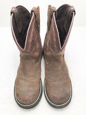 Womens Size 9 M JUSTIN GYPSY Brown COUNTRY WESTERN COWBOY BOOTS