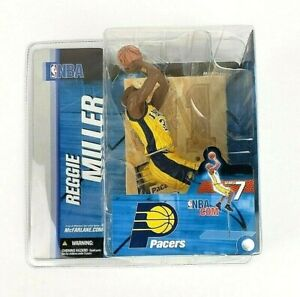 McFarlane NBA Series 7 Reggie Miller Indiana Pacers Yellow Variant Action Figure