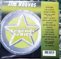 LEGENDS KARAOKE CDG JIM REEVES COUNTRY OLDIES #46 16 SONGS CD+G ROSES,DRUMS