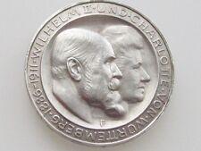 1911 WILHELM II WURTTEMBERG GERMAN /STATES COMMEMORATIVE .900 SILVER COIN KM#636