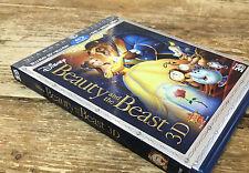 Beauty and the Beast Blu-ray/DVD Diamond Edition 2011 5-Disc Set Disney 3D etc