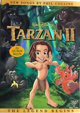 Walt Disney Tarzan II DVD 2005 BRAND NEW FACTORY SEALED