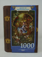 Masterpieces Alice in Wonderland Book Assortment Jigsaw Puzzle 1000-Piece NEW
