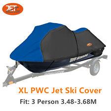 Premium 600D 3 Person 3.48-3.68M PWC Jet Ski Cover-JET-PWCXLD