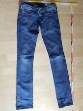 171b4dfdcc963b DIESEL Jeans Hose blau stretch W 26 L 34 Modell LOWKY *TOP*