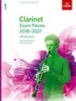 ABRSM: Clarinet Exam Pieces 2018–2021, ABRSM Grade 1 Clarinet, Piano Accompanime