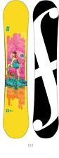 FORUM SNOWBOARD 2014 womens THE SPINSTER 151 snowboard BRAND NEW IN BAGGY