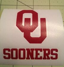 OU Sooners Decal For Your Yeti Rambler, Colster
