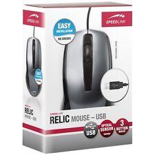SPEEDLINK RELIC Maus PS/2-Stecker für Rechts- und Linkshänder  E10-061017