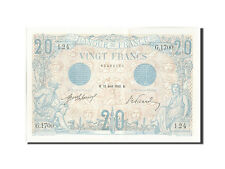 [#208921] France, 20 Francs, 20 F 1905-1913 ''Bleu'', 1912, 1912-04-27, KM:68b