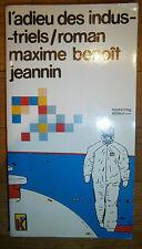 """Maxime Benoit-Jeannin - """"L'adieu des industriel"""" - BE - Ed. Kesselring - 1980"""