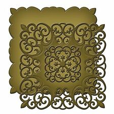 SPELLBINDERS SHAPEABILITIES VICTORIAN RANGE MEDALLION THREE CUT EMBOSS DIE