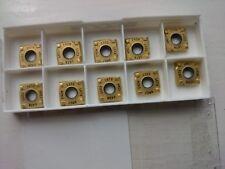 10 Seco carbide tips SNHQ110316TR4-M07 F40M ( SNHQ 110316 TR4 SNHQ110316 slot