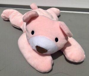 Ty Pillow Pals Plush Snuggy Pink Bear Beanie Baby Babies Stuffed Animal 1996 90s
