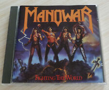 CD ALBUM FIGHTING THE WORLD MANOWAR 9 TITRES 1987 GERMANY