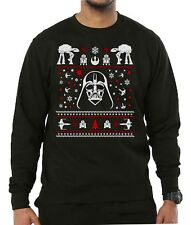 Mens Christmas Jumper 2018 Darth Vader Star Wars Unisex Xmas Sweater