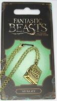 New Official Fantastic Beasts and Where to Find Them NS Suitcase Necklace