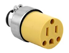 Female Electric Extension Cord Electrical Socket Repair Replacement Plug End