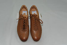 $595 NWOT Santoni Men's Leather Sneaker Size 7 D Made in Italy