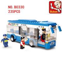 0330 Sluban MINI Blocks Kids Building Educational Assembled Toy Puzzle City Bus